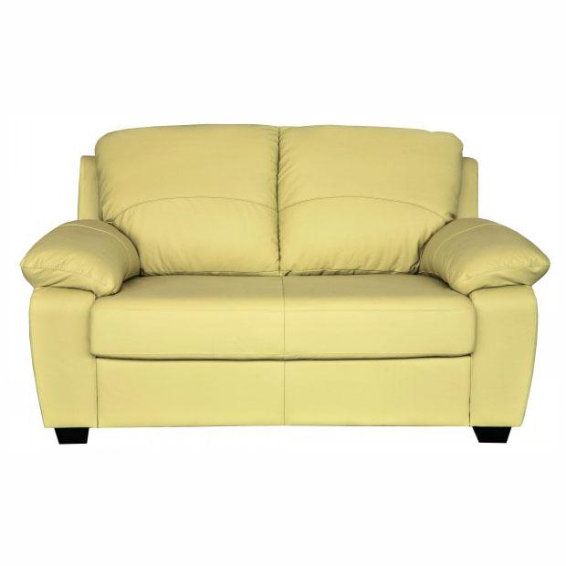 двухместный кожаный диван бари 4 купить в магазине евромебель в спб